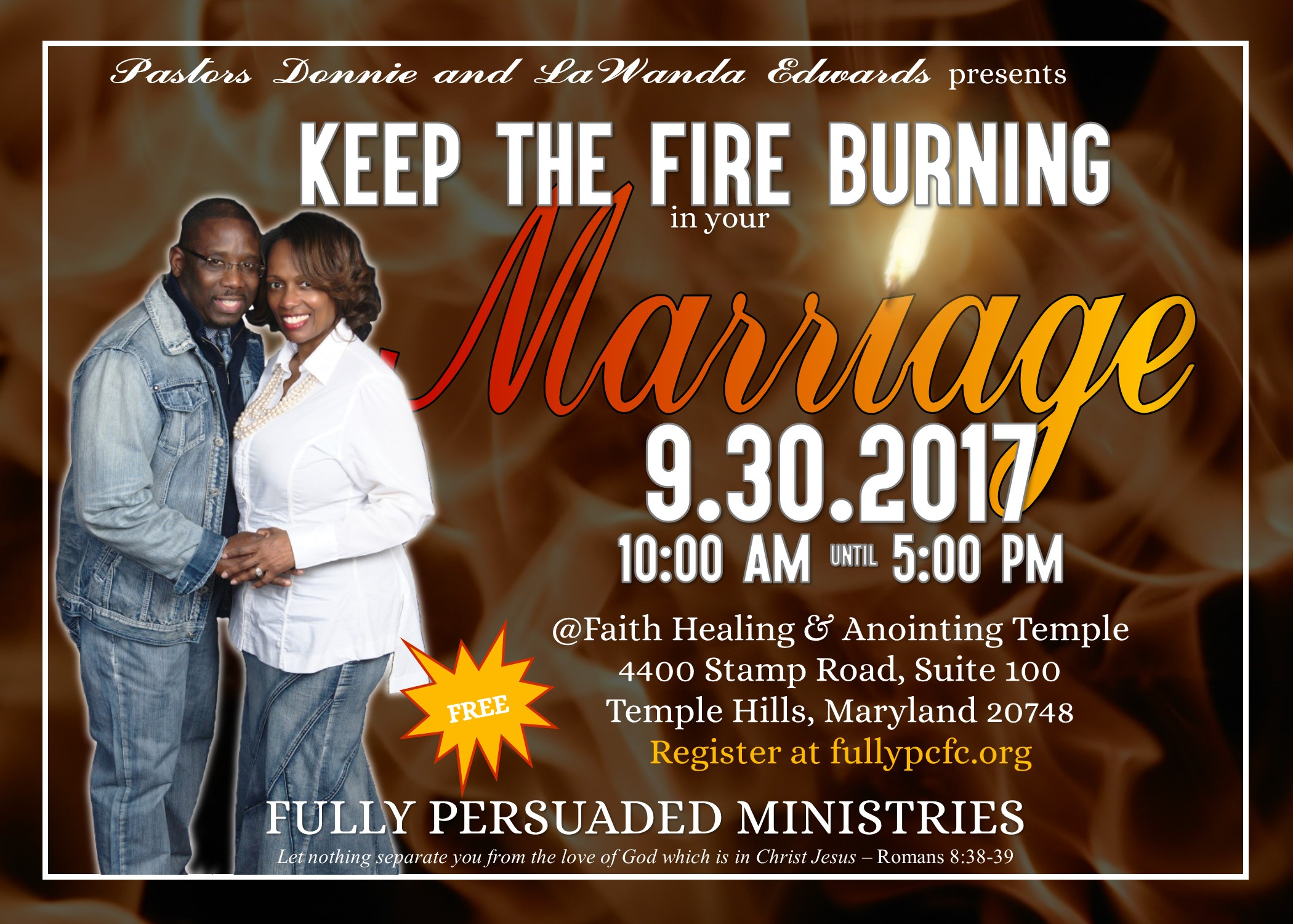 Fully PCFC Marriage Conference